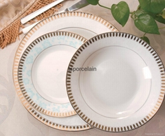 12 pcs porcelian dinnerwares