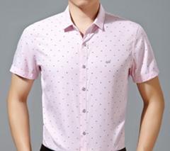 2015 new fahion casual business summer style men shirt cutton short sleeve