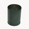 Round tin pencil holder 1