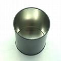 Round tin pencil holder 4