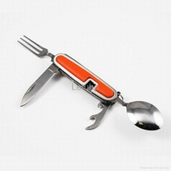 camping cutlery with for