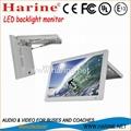 15.6 inch manual led back bus monitor