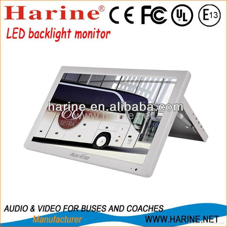 18.5 inch manual led backlight car lcd monitor 1