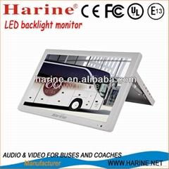 18.5 inch manual led backlight car lcd monitor