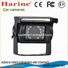 Waterproof IR CCD rear view camera