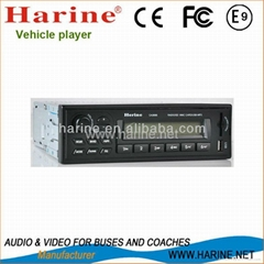 Vehicle with FM and Am radio funtion suppport USB SD CARD MP3 car mp3 player