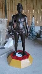 醫用針灸人銅人雕塑
