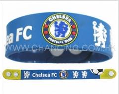Chelsea silicone bracelet