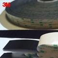 3M SJ4575黑色背胶双锁蘑菇头搭扣装饰物品固定搭扣 4