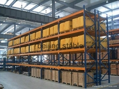 steel Heavy Duty rack she  ing system for warehouse from Beijign stable