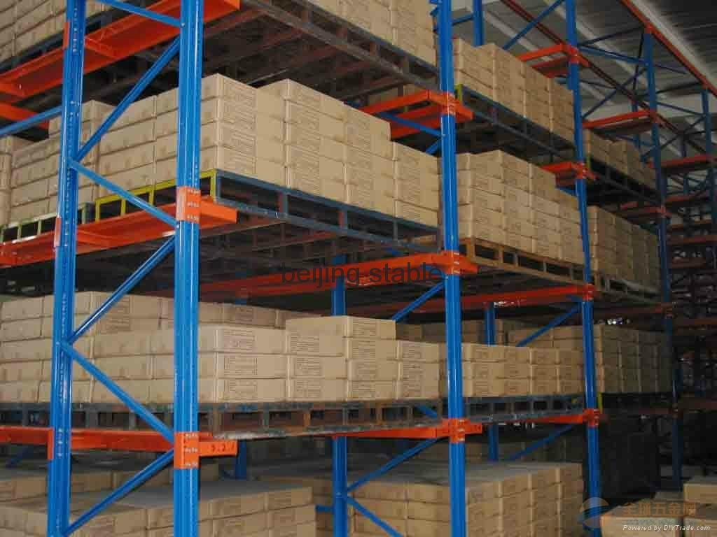 steel Heavy Duty rack she  ing system for warehouse from Beijign stable 4