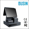 "BUSIN 15"" capacitive Touch Dual Screen"