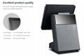 """12.1"""" 10-point Capacitive Touch Screen POS w/ VFD Customer Display & 80mm Printe 4"""