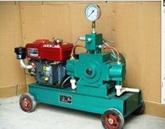 油田井口压力遥控 移动车载试压泵