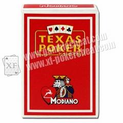Modiano Platinum Acetate Jumbo Index Poker Size 100% Plastic Playing Card Set Ma