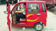 adult electric tricycle for carrying passengers
