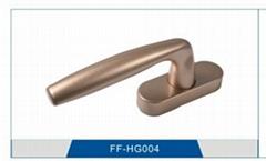 Zinc  alloy handle for window and door