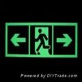 Photoluminescent sign