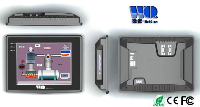 WinCE工業平板電腦8英吋 3