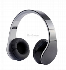 Over Ear Stereo Bluetooth Wireless Headset