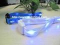 Remote control ultralight chip musical control control rfid nylon LED wristband 1
