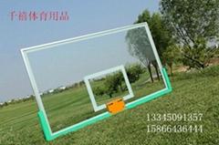 鋁合金鋼化玻璃籃球板