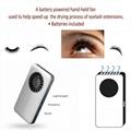 Handheld mini USB fan for eyelash extension 1