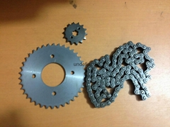 Transmission kit (sprocket kit+chain)