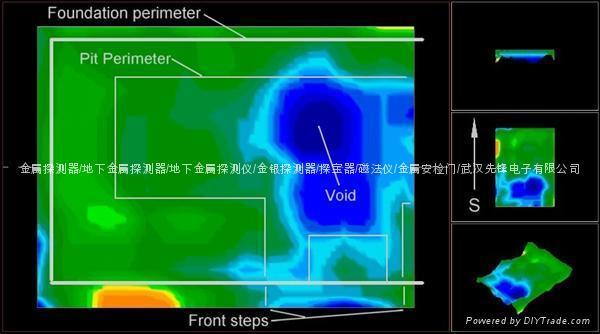 Exp4000进口可视成像地下金银探测仪,探测深度25米 4