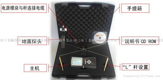 天狼星发现者金属探测器定位仪 2