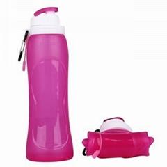 Earth friendly bpa free foldable water bottles