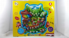 Happy animal paradise fruit early childhood learning machine touch