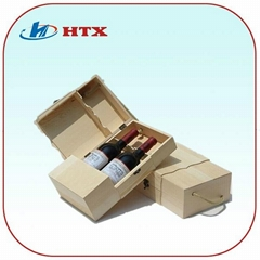 Pratical Wood Wooden Box for Wine or Bottle