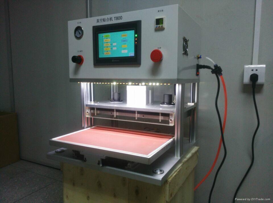 "FREE Shipping!!OCA vacuum laminating machine For 17"" laptop screen  vacuum pump  5"