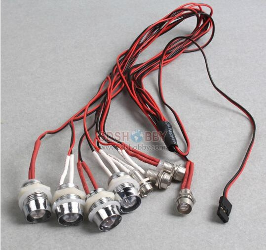 G.T.Power L8 Model Car LED/Light for RC Car 1