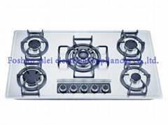 5 burners stainless steel panel gas stove(9285S2/3)
