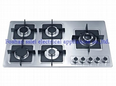 5 burners stainless steel panel gas stove(9265S4)