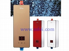 Instant electric water heater for bathroom or kitchen