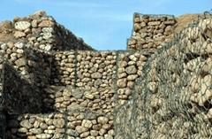 石笼网箱  格宾石笼,雷诺护垫石笼