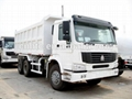 6*4 25 ton HOWO tipper  trucks /
