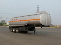 Oil Tank Semi Trailer with Three Axles