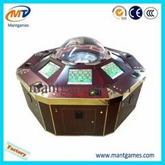 Standrad 8 Player Upgrade Roulette Wheel Arcade Machine