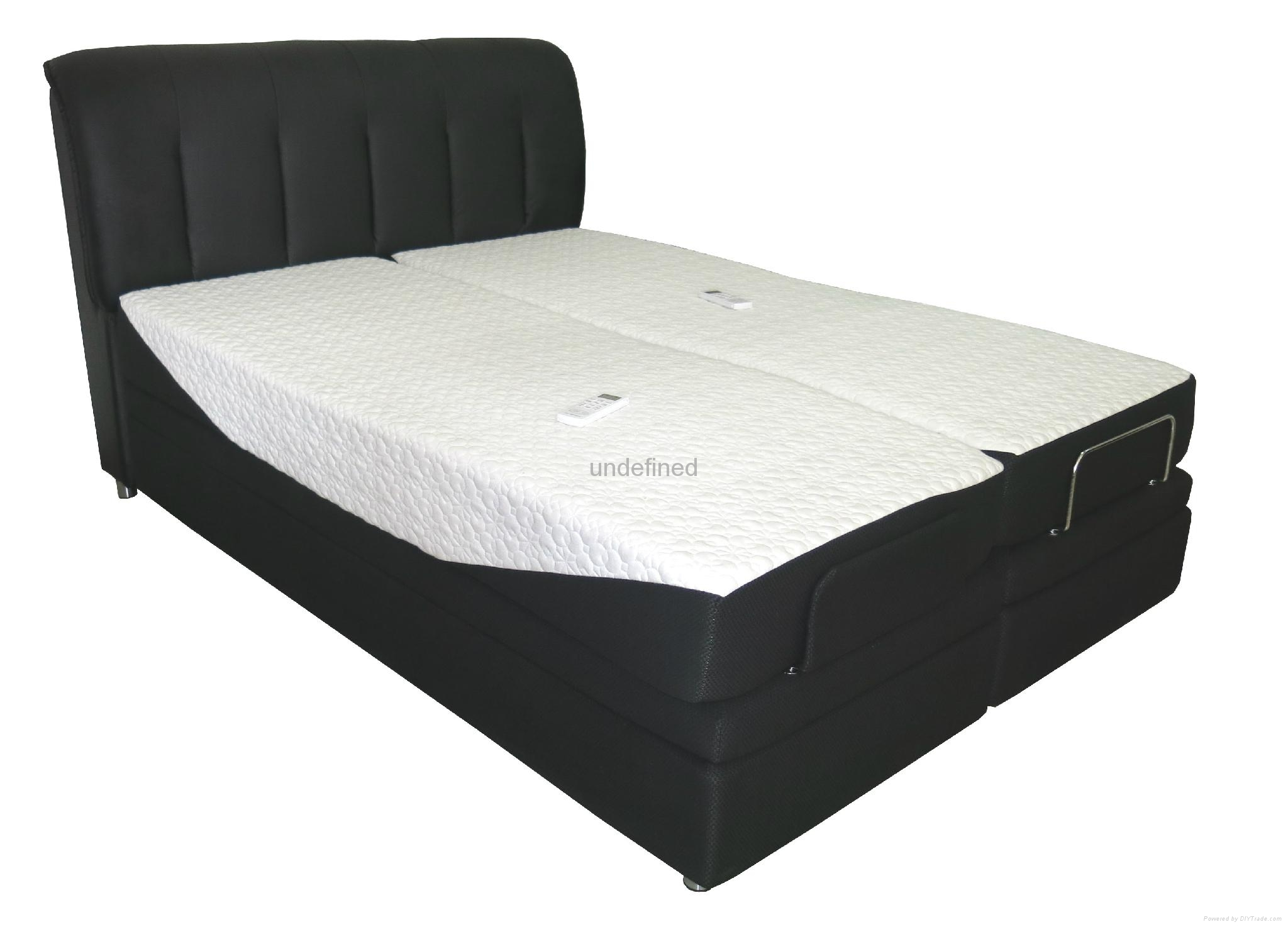 Queen Size Electric Adjustable Bed Frame : Queen size adjustable bed structures e