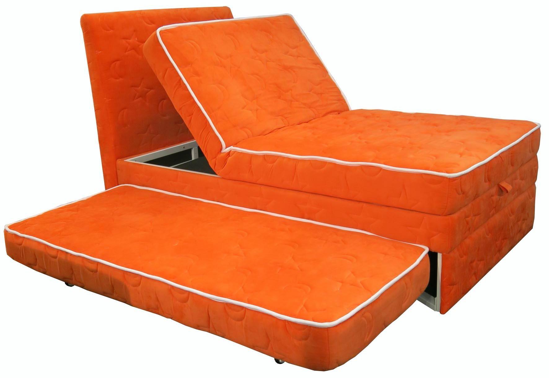 Modern Bedroom Furniture Lift Up Storage Adjustable Bed 3