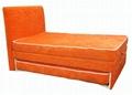 Modern Bedroom Furniture Lift Up Storage Adjustable Bed 2