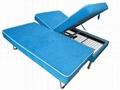 Modern Bedroom Furniture Lift Up Storage Adjustable Bed 5