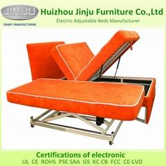 Modern Bedroom Furniture Lift Up Storage Adjustable Bed