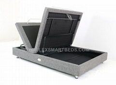 Hideaway Storage Electric Bed