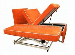 Modern Bedroom Furniture FLS020 Lift Up Storage Adjustable Bed, Children Bed