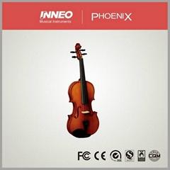 Rosewood Silent Violin